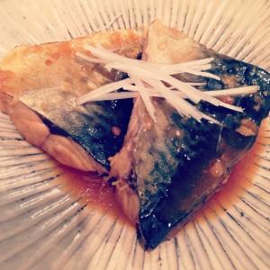 釣魚を使った料理:さばの味噌煮〜手前味噌仕立て〜