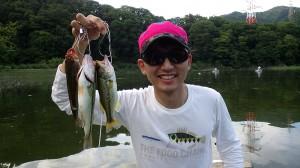 ダブルノーバイト、津久井湖に降臨